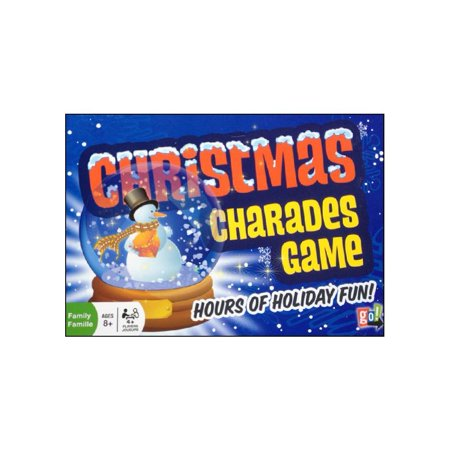 Chritmas Games (Christmas Charades Board Game,  by Go!)