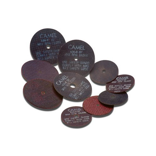 CGW Abrasives Type 1 Cut-Off Wheels, Air & Electric Die Grinders - 3x1/16x1/4 t1 a60-r-bf cutoff die grind/mandrel (Set of 10)