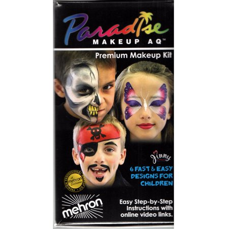 Paradise Makeup Face Painting Kit KMP-8C
