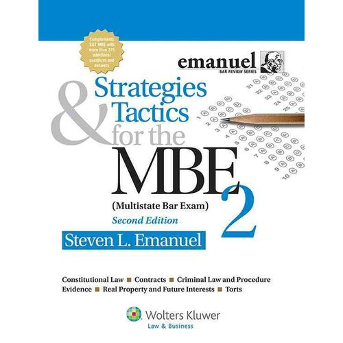 Strategies & Tactics for the MBE 2 (Multistate Bar Exam)