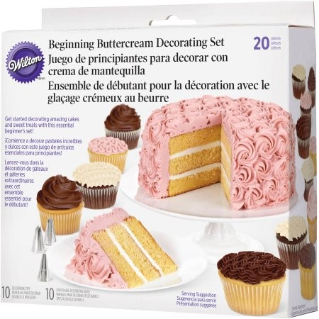 Wilton Beginning Buttercream Decorating Set, 20 pc.