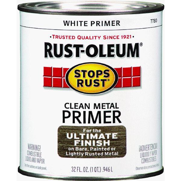 Rust-Oleum Stops Rust White Clean Metal Primer