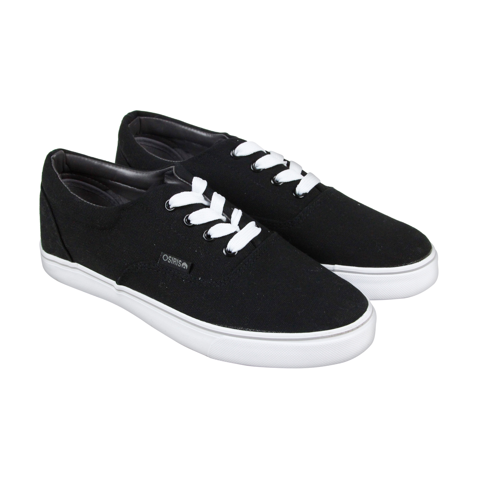 Osiris Sd Mens Black Canvas Lace Up Sneakers Shoes