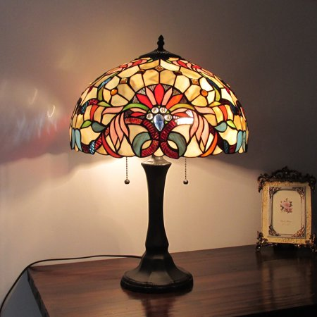 Chloe Lighting Tiffany Style Victorian Design 2-light Table Lamp Victorian Tiffany Animals