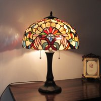 Chloe Lighting Tiffany Style Victorian Design 2-light Table Lamp