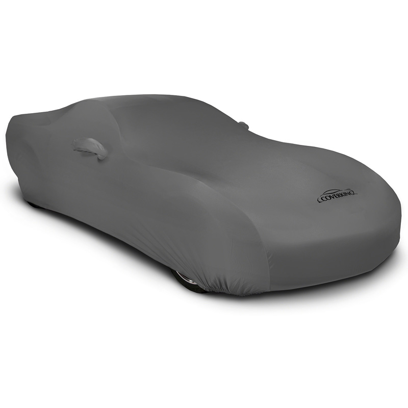CUSTOM VEHICLE COVER SATIN STRETCH GRAY CLASS 3 FOR PORSCHE