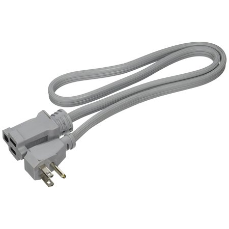 Prime Wire   Cable Ec680503l Air Conditioner And Major Appliance Extension Cord  Gray  3 Feet  36 Pack