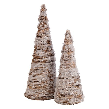 Pomeroy Crystal Trees Sculptures - Set of 2 (Polar Crystal Sculpture)