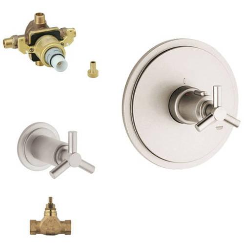 Grohe K19169-34331RV3-EN0 Atrio Shower Valve Kit, Brushed Nickel