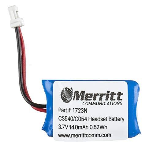 Replacement Plantronics Headset Battery For Cs540 And C054 Wireless Headsets Walmart Com Walmart Com