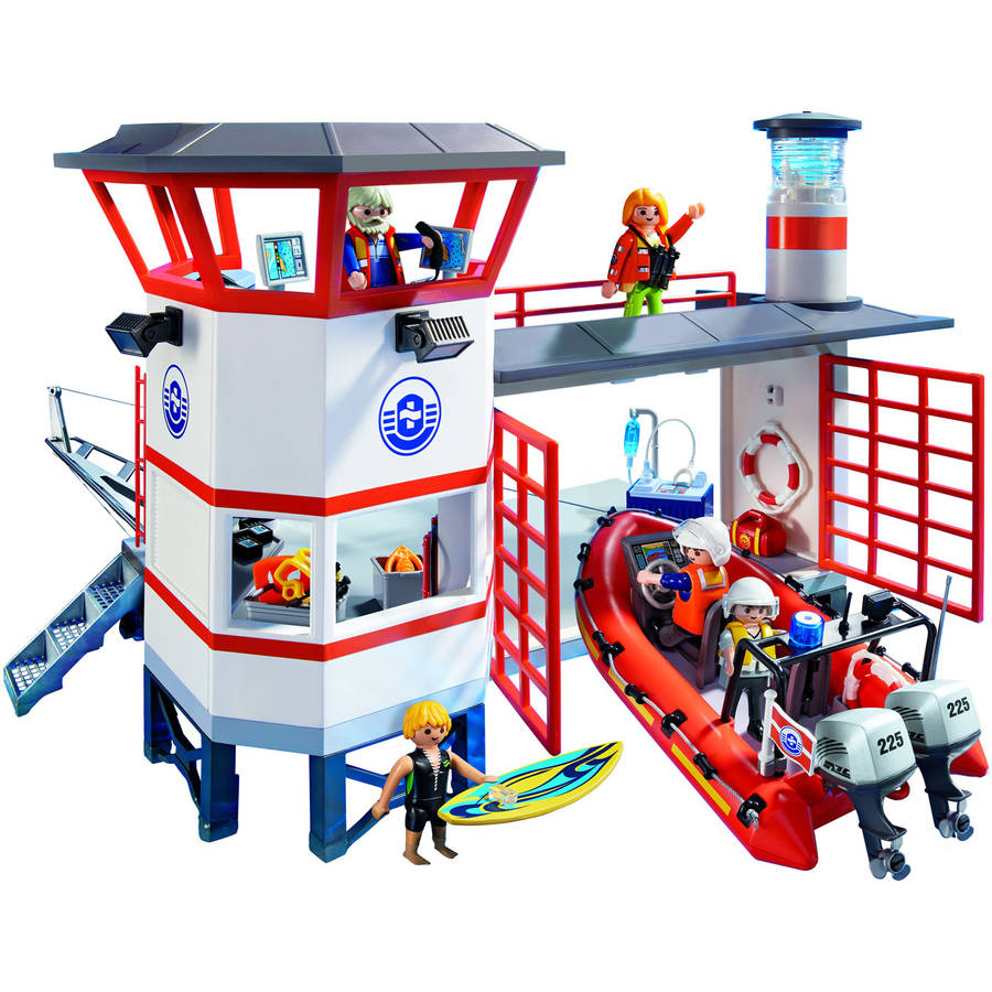 Playmobil Coast Guard Station with Lighthouse