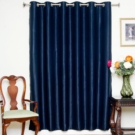 August Grove Lakov Solid Blackout Thermal Grommet Single Curtain Panel