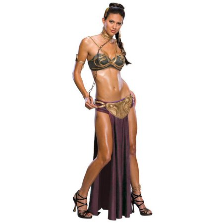 Princess Leia Slave Bikini Costume (STAR WARS PRINCESS LEIA SLAVE ADULT)