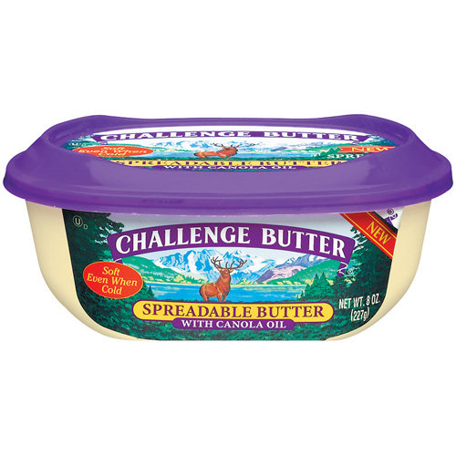 Challenge Spreadable Butter with Canola Oil, 8 oz