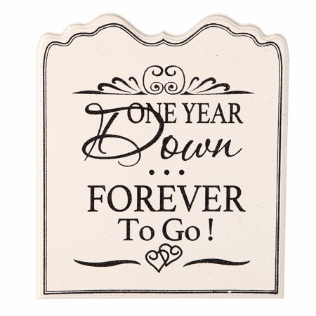 One Year Down Forever to Go Wedding Anniversary (Places To Go For One Year Anniversary)
