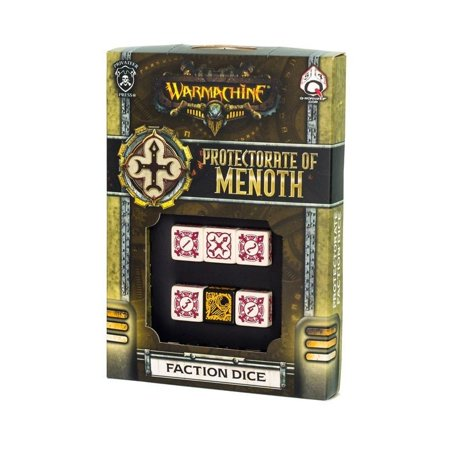 Q-Workshop SPWA47 Warmachine Protectorate Faction Dice Set