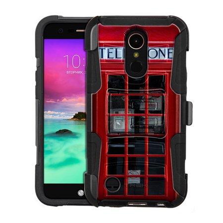 Harmony Rod - LG Harmony Armor Hybrid Case - Red British Phone Booth
