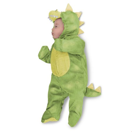 Baby Sleepy Green Dino Halloween Costume