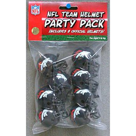 Riddell NFL Team Helmet Party Pack Denver Broncos RIDDPPDEN for $<!---->