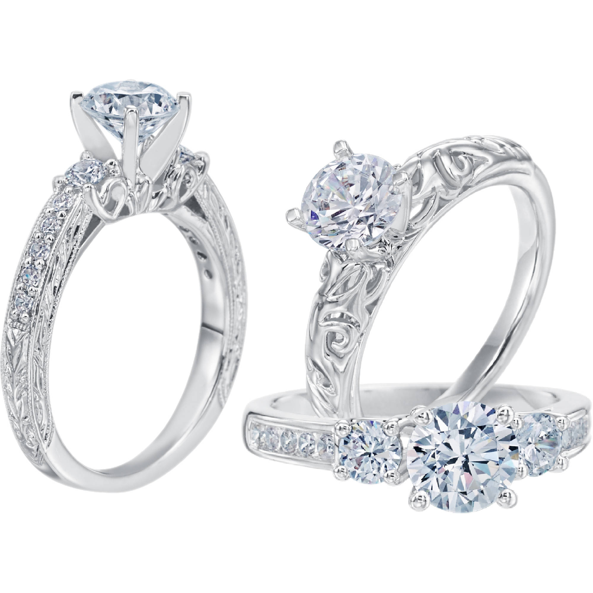 design your own engagement ring certified walmart
