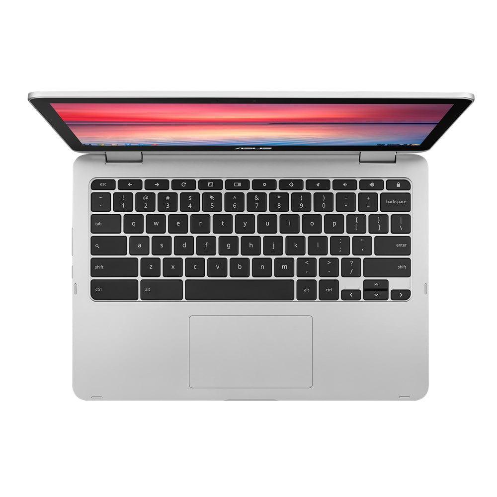 "Chromebook Flip C302CA Intel Core M 6Y75 16 GB 64 GB SSD 12.5"" Touchscreen Chrome OS Notebook"