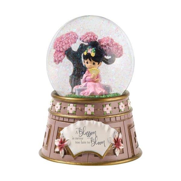 Precious Moments Disney A Blossom Is Never Too Late To Bloom Mulan Waterglobe 181101 Walmart Com Walmart Com