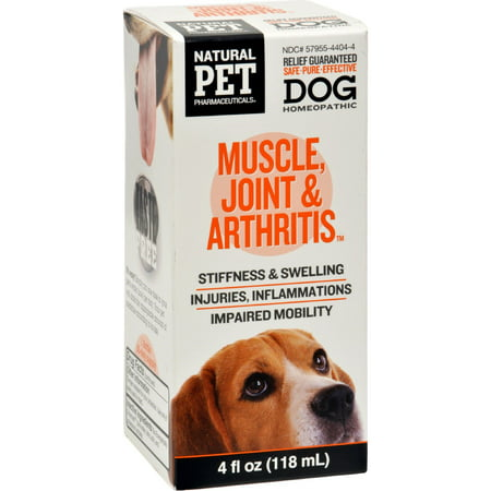 King Bio Homeopathic Natural Pet Dog   Muscle Joint And Arthritis   4 Ounce