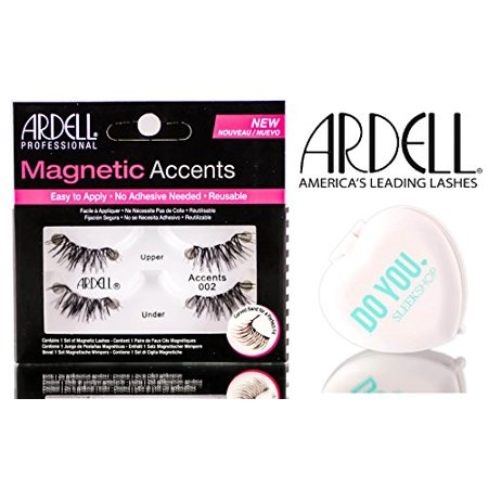 Ardell Professional Magnetic Lashes (with Sleek Compact Mirror) - ACCENTS 002
