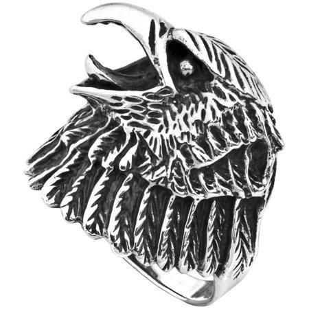 Eagle Head Sterling Silver - Silver Eagle Head