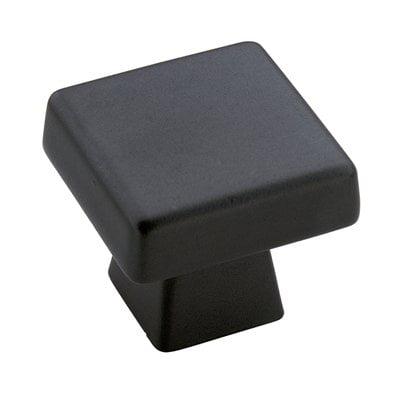 Blackrock 1-1/2 in (38 mm) Length Black Bronze Cabinet Knob (Cadet Cabinet Knob)