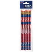 American Logo Products Mississippi Rebels Pencils, 6-Pack