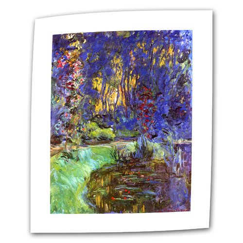 ArtWall ''Giverny'' by Claude Monet Print of Painting on Canvas
