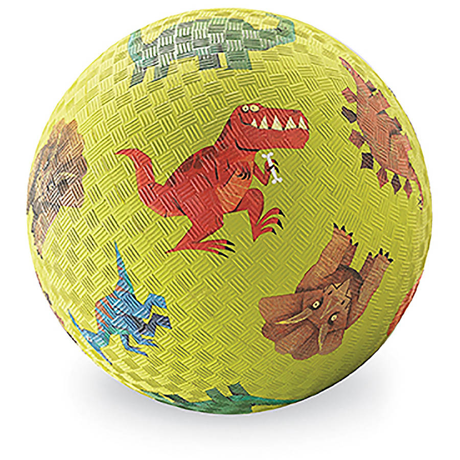 "Crocodile Creek Dinosaurs Playground Ball, 7"", Green"