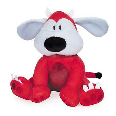 Little Red Devil Dog Halloween Toys for Dogs Plush Toy Two Squeakers! 7