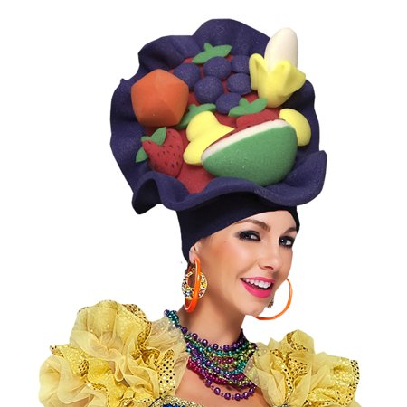 Tutti Frutti Adult Foam Costume Hat - One - Foam Finger Costume