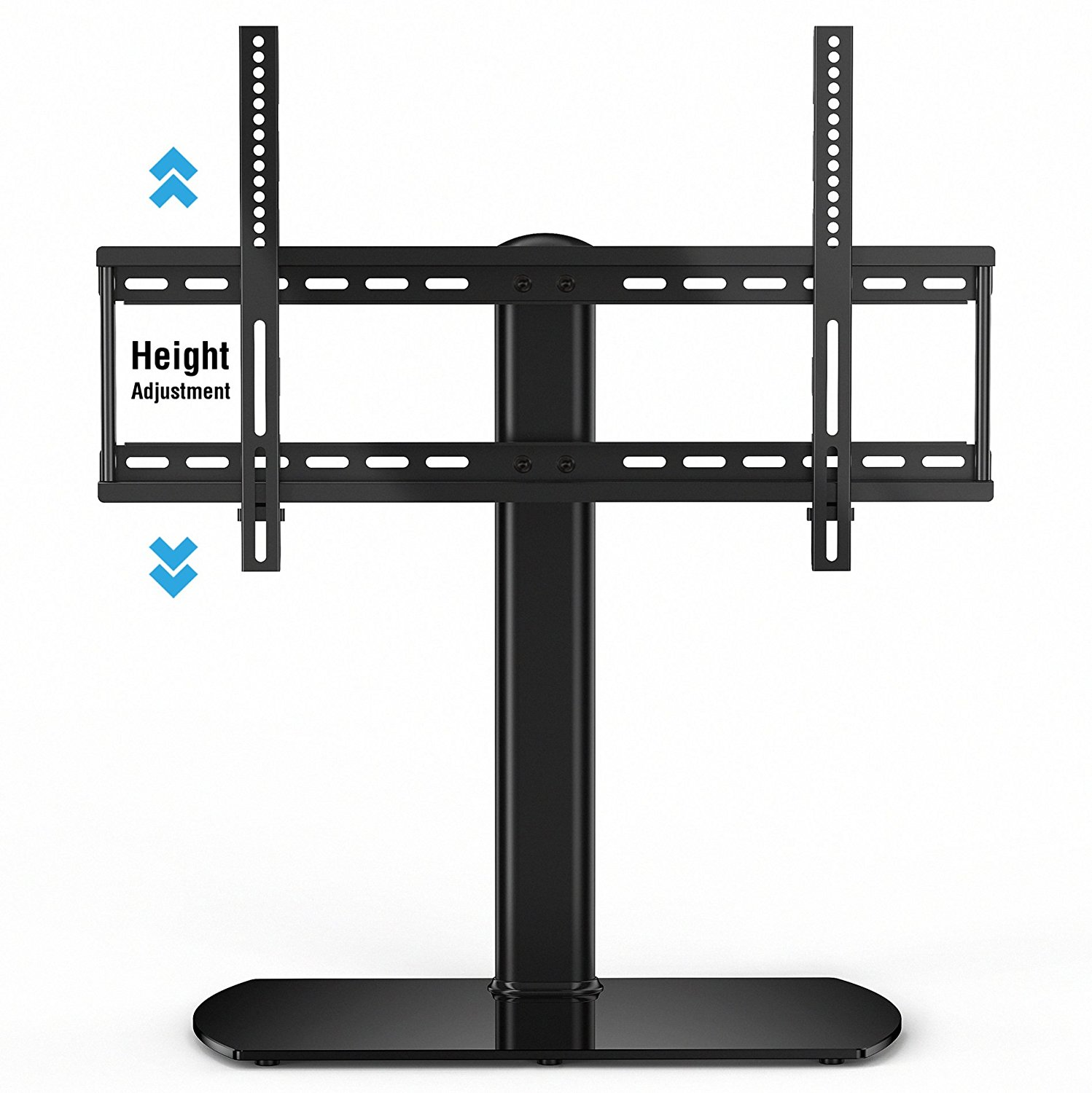 FITUEYES Universal tabletop TV Stand Base with Mount for 27 to 65 inch Samsung lg vizio Tv FTT107001GB