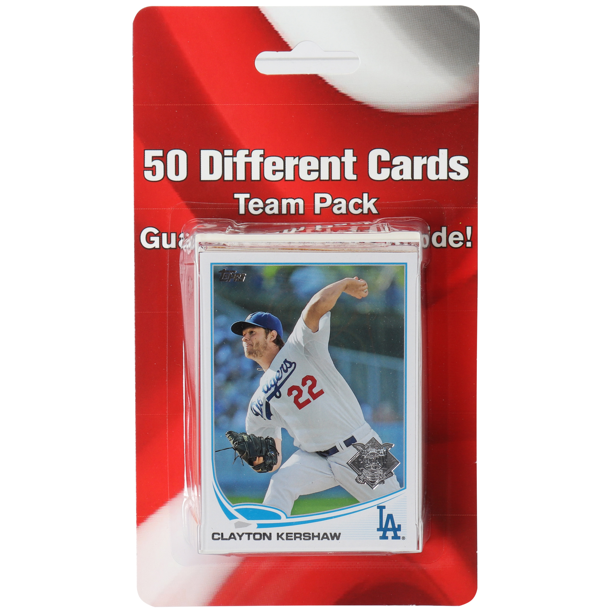 Los Angeles Dodgers 50 Card Team Pack Trading Cards - No Size