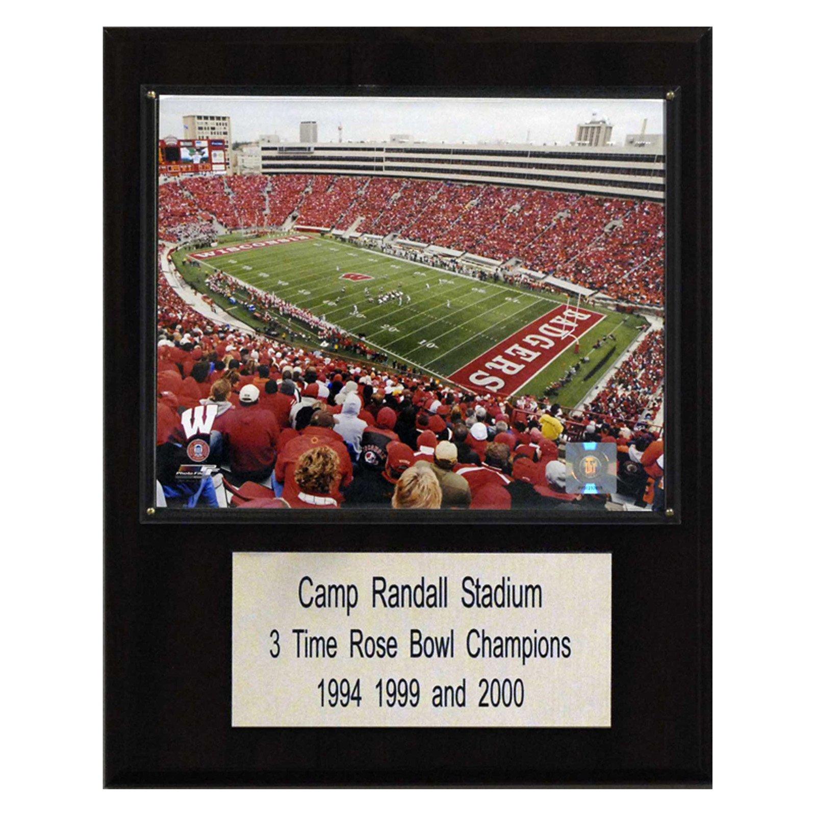C&I Collectables NCAA Football 12x15 Camp Randall Stadium Stadium Plaque