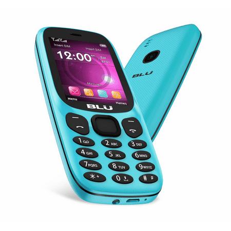 BLU Jenny 2.4 J070 GSM Unlocked 2G Dual Sim VGA Camera Cellphone W/ Keyboard - -