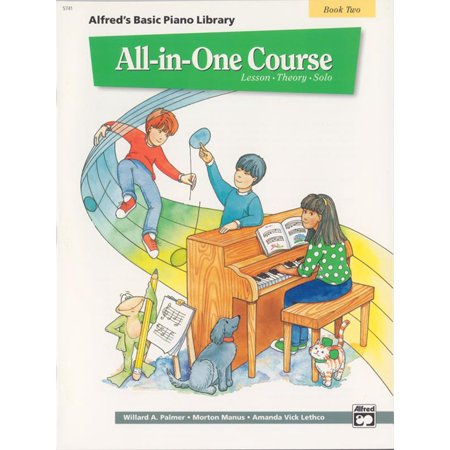 - Alfred's Basic Piano Library: Alfred's Basic All-In-One Course, Bk 2: Lesson * Theory * Solo (Paperback)