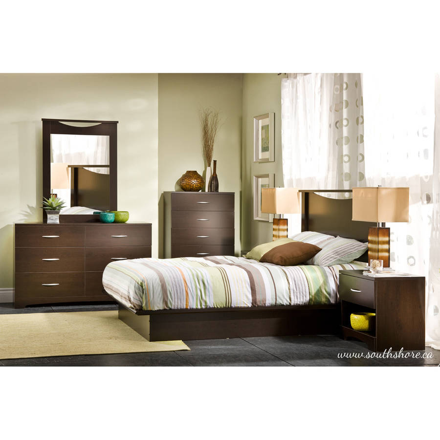 South Shore SoHo 3 Piece Dresser And Nightstand, Multiple Finishes    Walmart.com