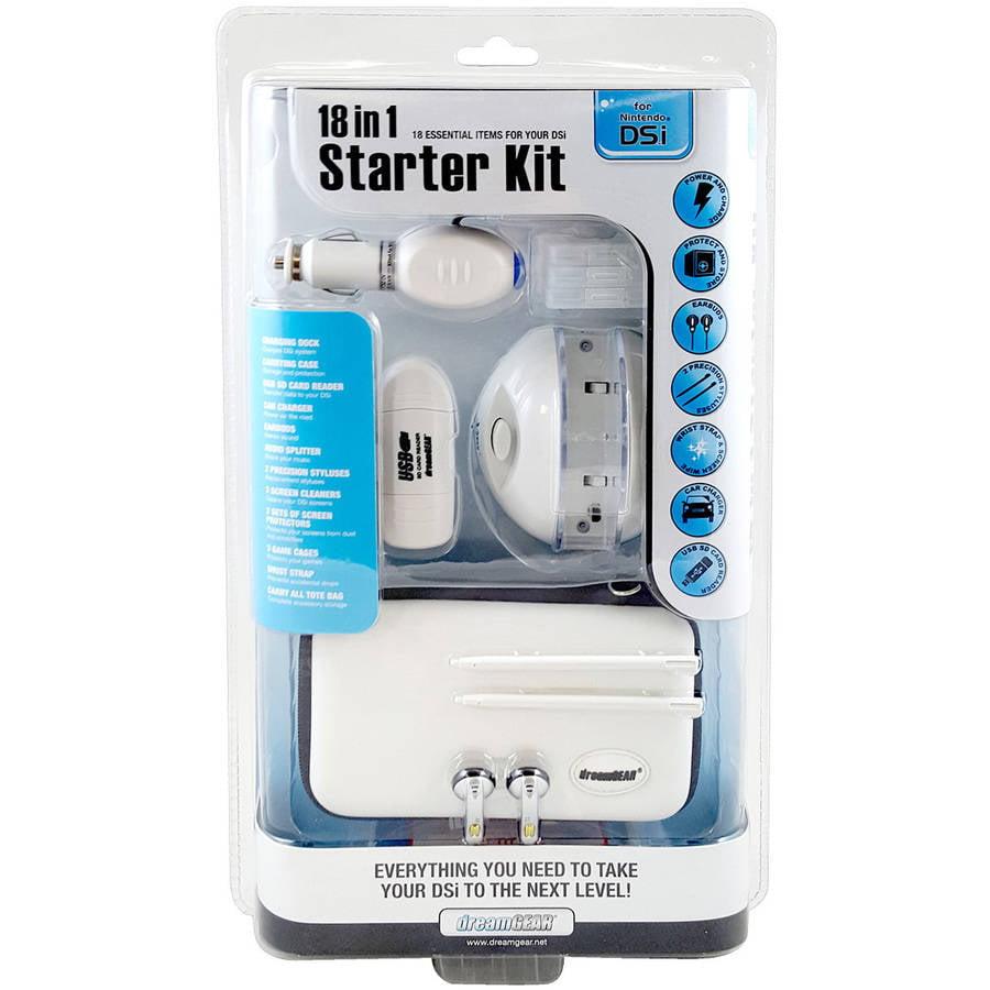 DSi 18-in-1 Starter Kit, White