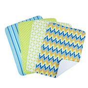 Trend Lab  5-piece Nursing Cover and Burp Cloth Set in Levi