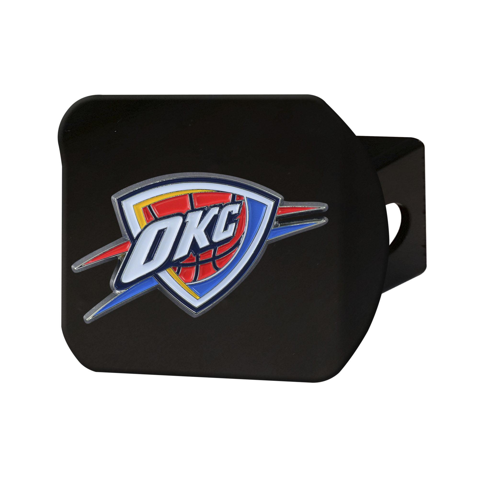 "Oklahoma City Thunder Color Hitch Black 3.4""x4"""
