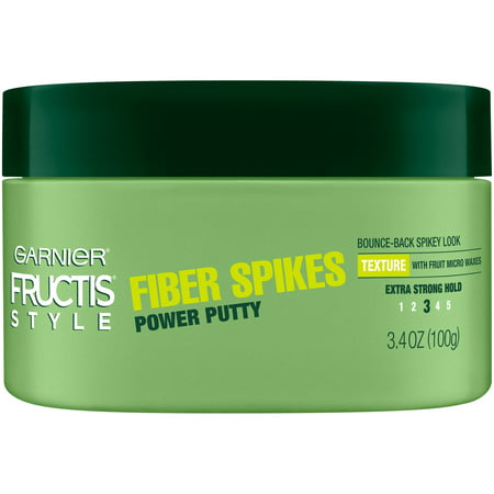 Hair Putty - Garnier Fructis Style Power Putty Fiber Spikes, 3.4 Oz