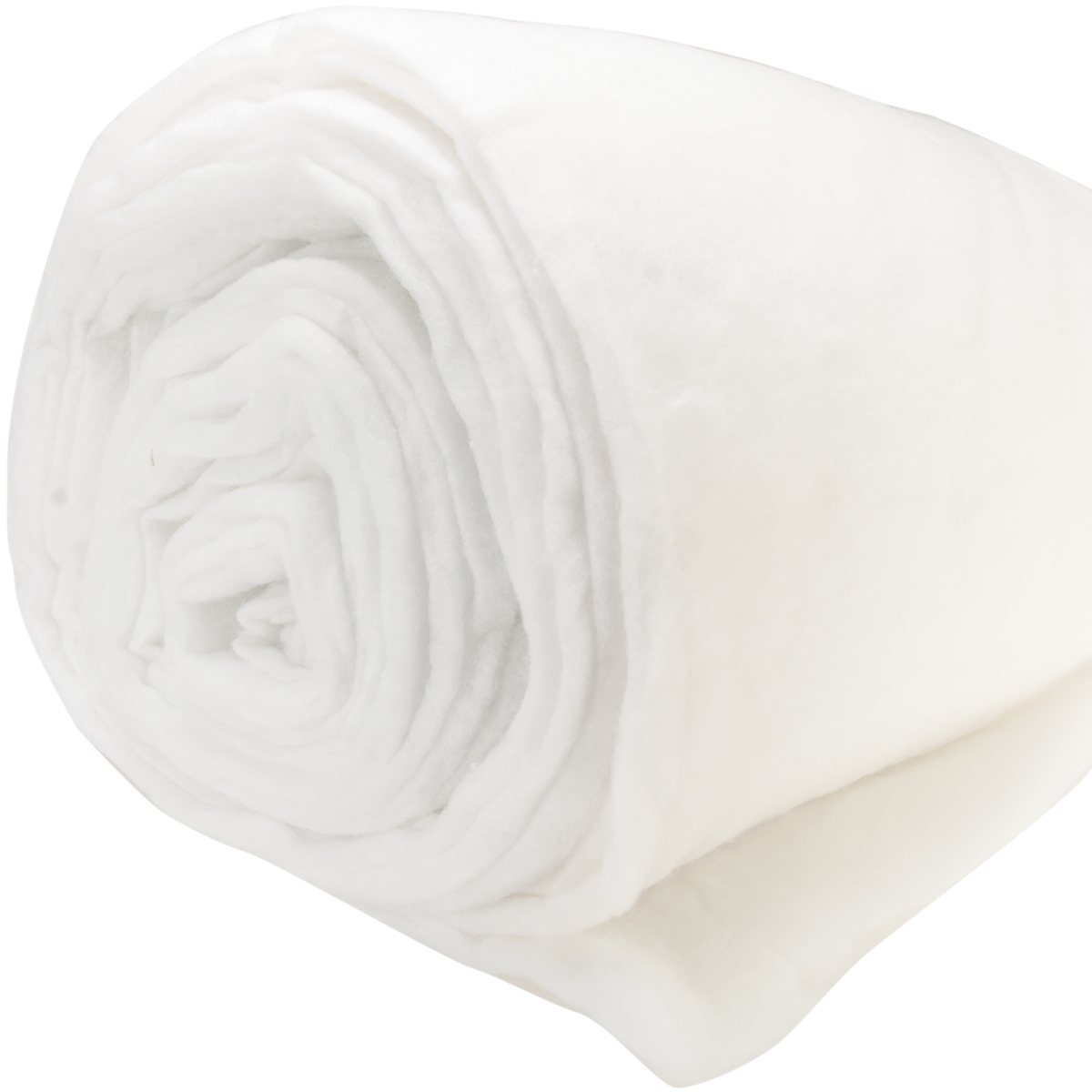 """Air Lite Medium to High Loft Polyester Double-Rolled Batting, 100"""" x 25 yds"""