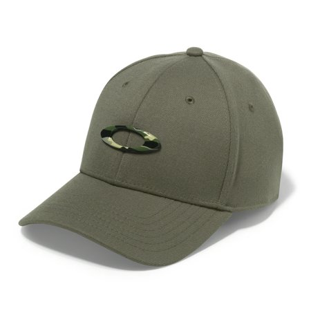 NEW Oakley Tincan Olive Green/Graphic Camo Fitted S/M Golf Hat/Cap (Baseball Oakleys Sonnenbrillen)