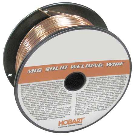 MIG Welding Wire,70S3,0.035,2 lb HOBART S304608-G19