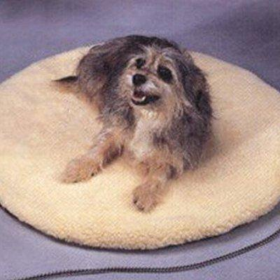 Image of allied precision alliedpr12pbr round heated pet bed