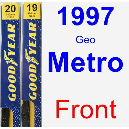 1997 Geo Metro Wiper Blade Set/Kit (Front) (2 Blades) - Premium 1997 Geo Metro Replacement